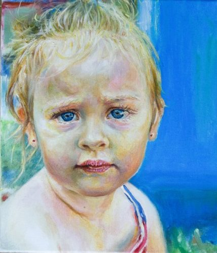 Iulia, oil on canvas,30x35 cm, 2016._result